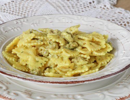 Pasta cremosa alla Salsiccia