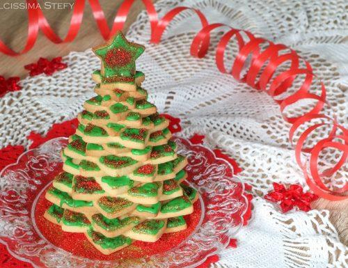 Alberello di Biscotti per Natale