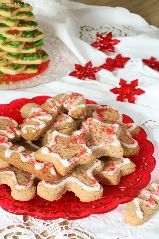 Biscotti decorati ricetta di natale