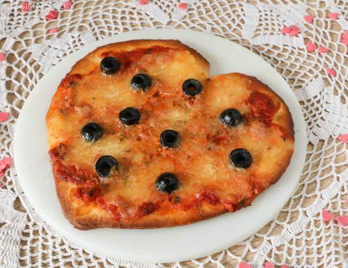 Pizza a cuore per San Valentino