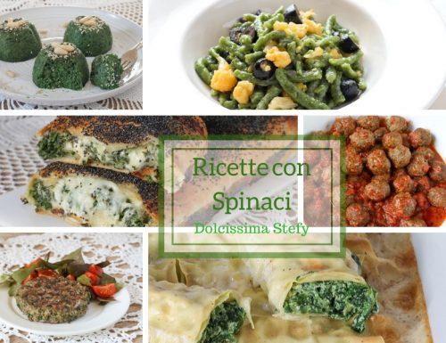 Ricette con Spinaci