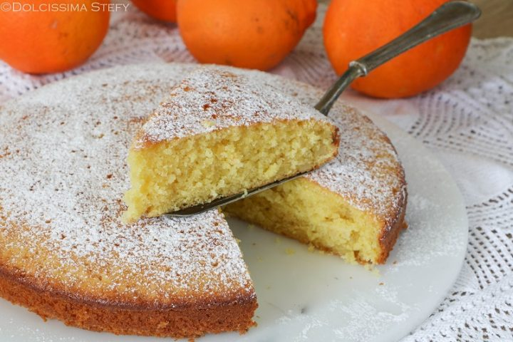 Torta Mandorle e Arancia