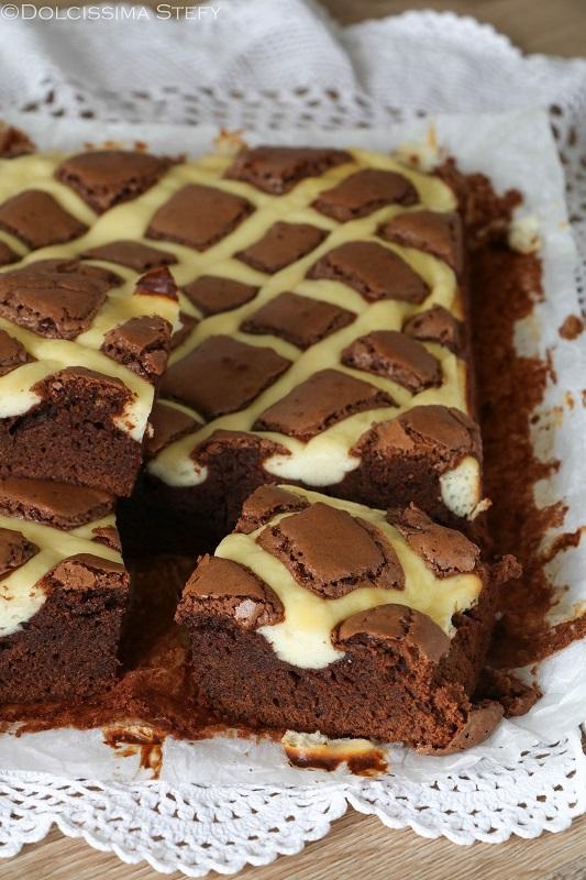 Torta Cheesecake al cioccolato