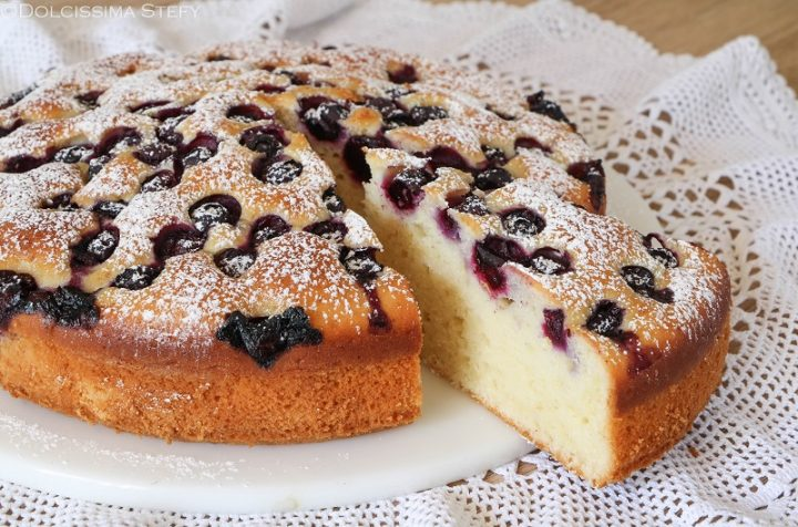 Torta Mirtilli e Yogurt