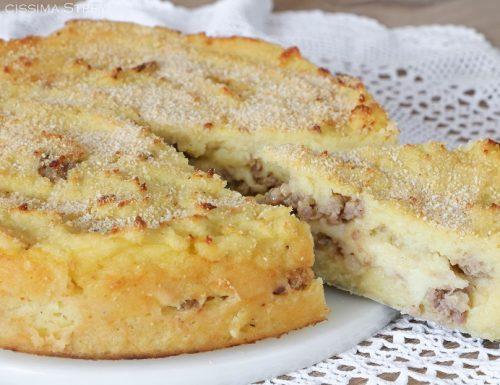 Sformato Patate e Salsiccia