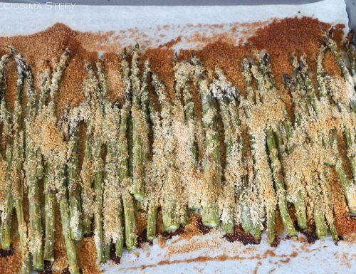 Asparagi al forno croccanti