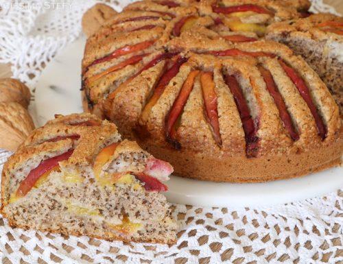 Torta Peschenoci e Noci