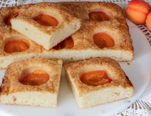 Torta Albicocche e Ricotta