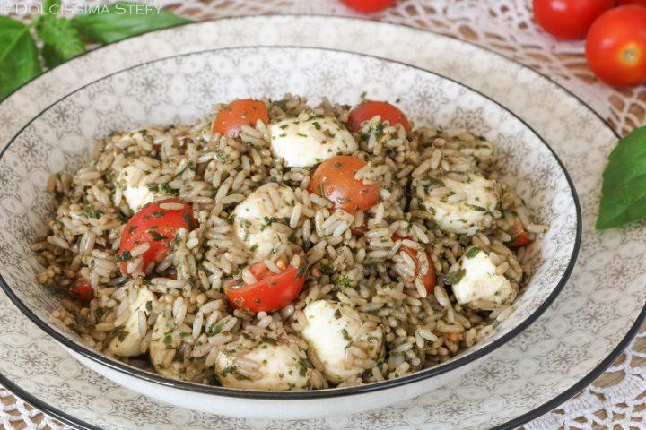 Insalata di riso al Pesto