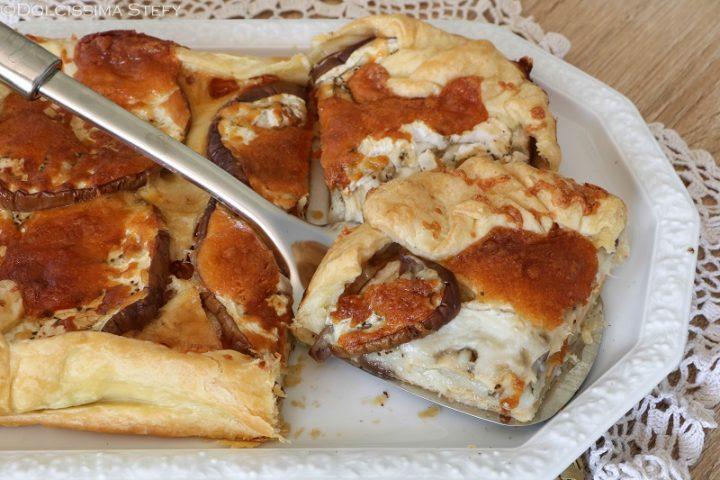 Torta Melanzane e Provola