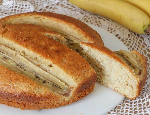 Torta con Banane e Mandorle