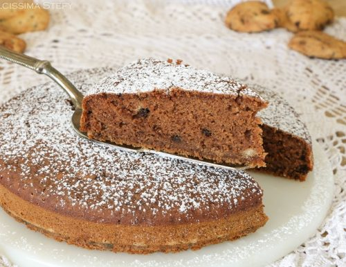 Torta Latte e Biscotti