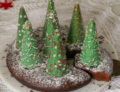 Brownies natalizio