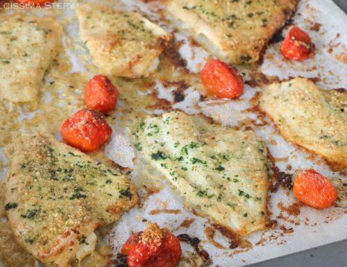 Filetti di Platessa al forno