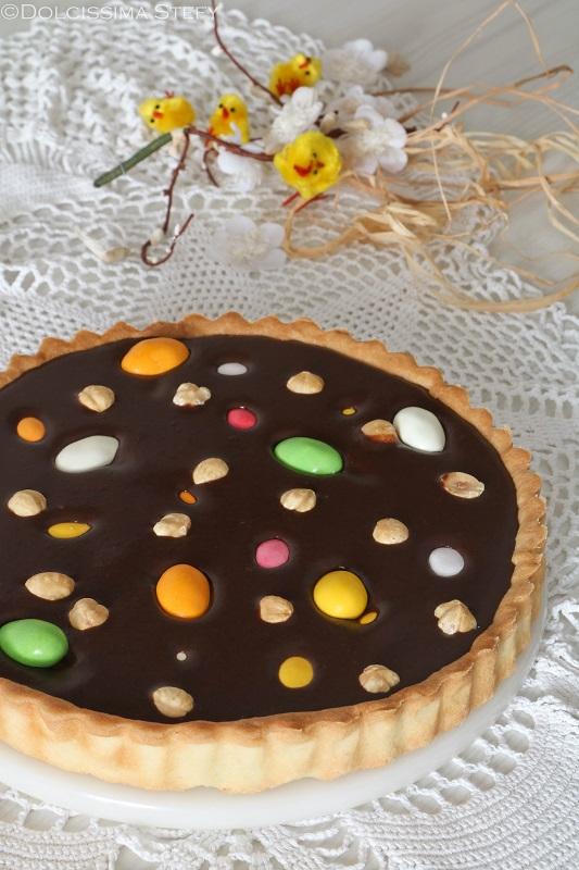 Crostata con Ovetti di Pasqua