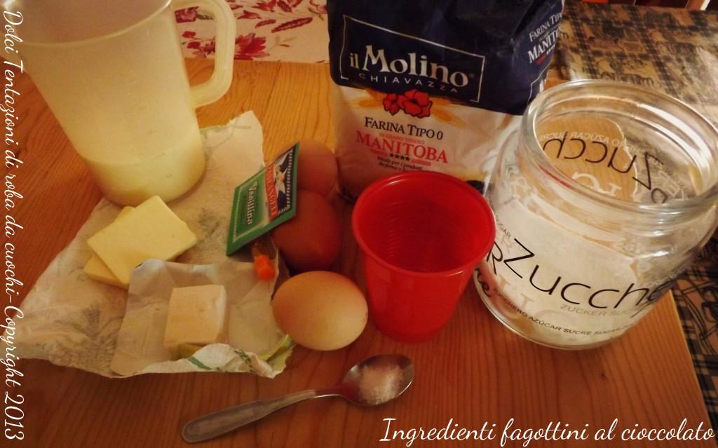 ingredienti fagottini