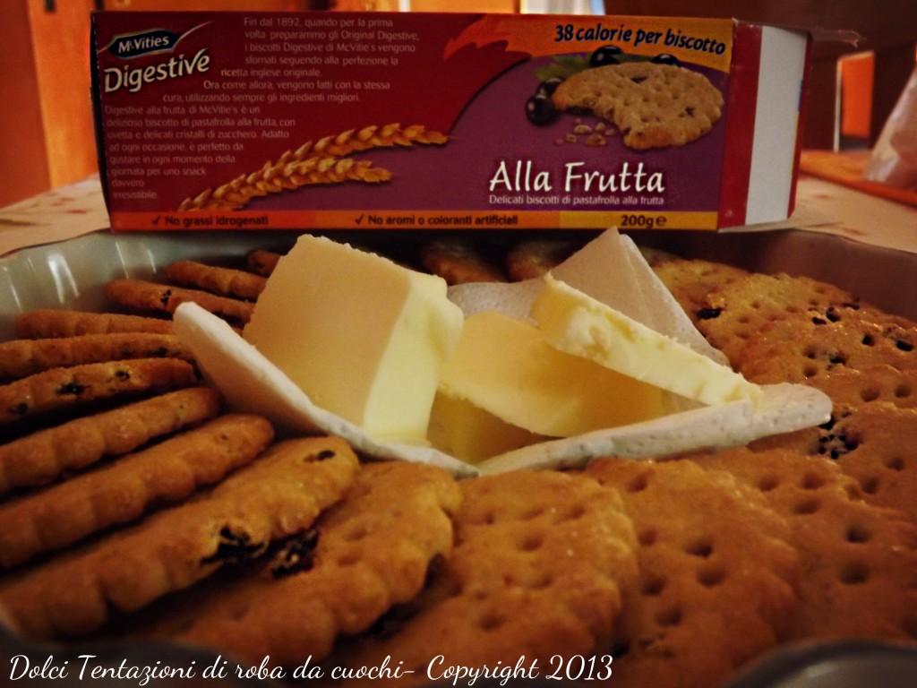 base di biscotti
