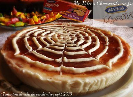 Collaborazione Mc Vitie's Digestive e Cheesecake ai frutti