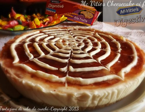 Collaborazione Mc Vitie's Digestive e Cheesecake ai frutti