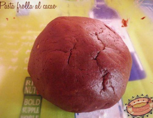 Pasta Frolla al cacao (a modo mio)