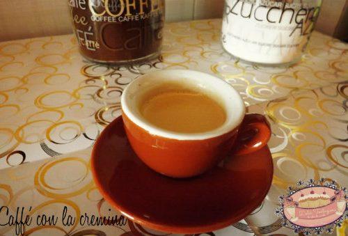 Caffè con la cremina