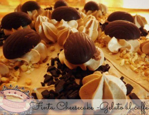 Finta Cheesecake – Gelato al caffè –