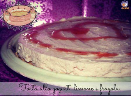 Torta allo yogurt limone e fragola
