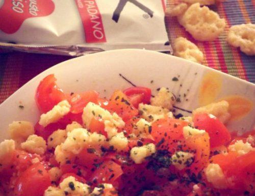 Insalata di pomodori grokkante