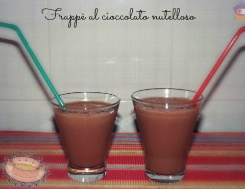 Frappè al cioccolato nutelloso