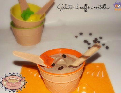 Gelato caffè e nutella