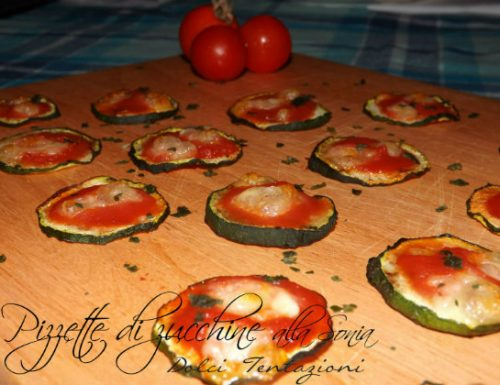 Pizzette di zucchine alla Sonia