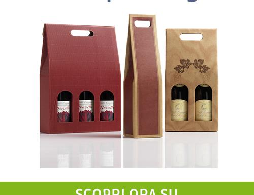 50 diversi modelli di scatole per bottiglie, su Semprepronte.it