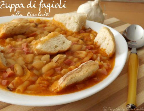 Zuppa di fagioli alla tirolese