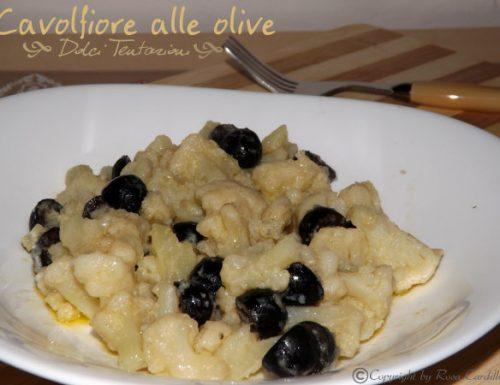 Cavolfiore alle olive