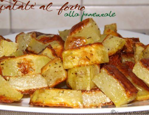 Patate al forno alla provenzale