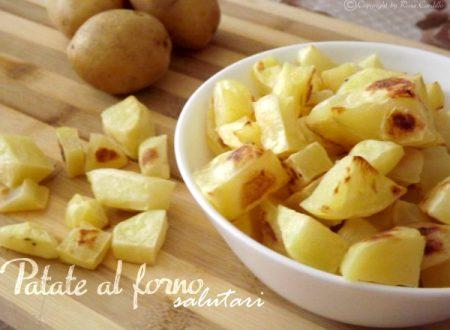 Patate al forno salutari