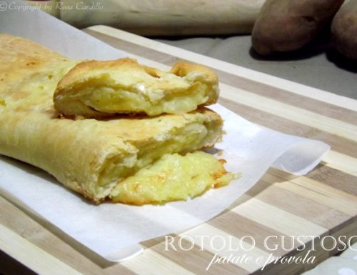 Rotolo Gustoso – patate e provola