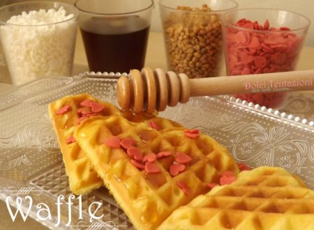 Waffle -ricetta passo a passo-
