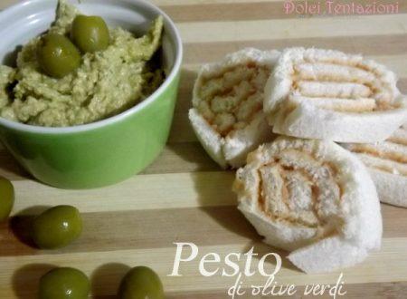 Pesto di olive verdi