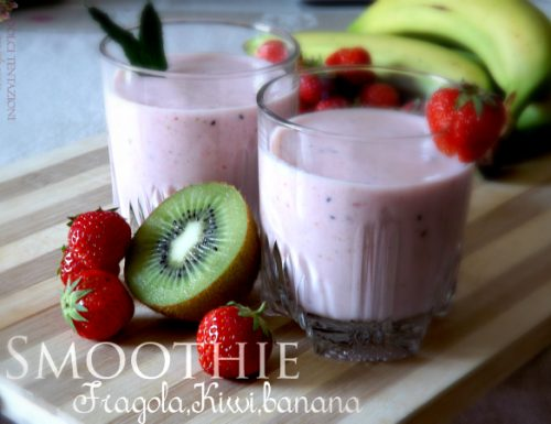 Smoothie – Fragola,Kiwi,Banana