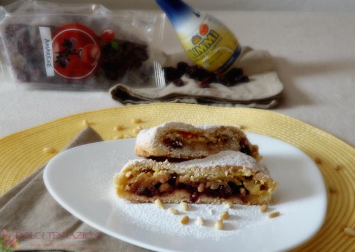 strudel di frolla con mele e crema.articolo1