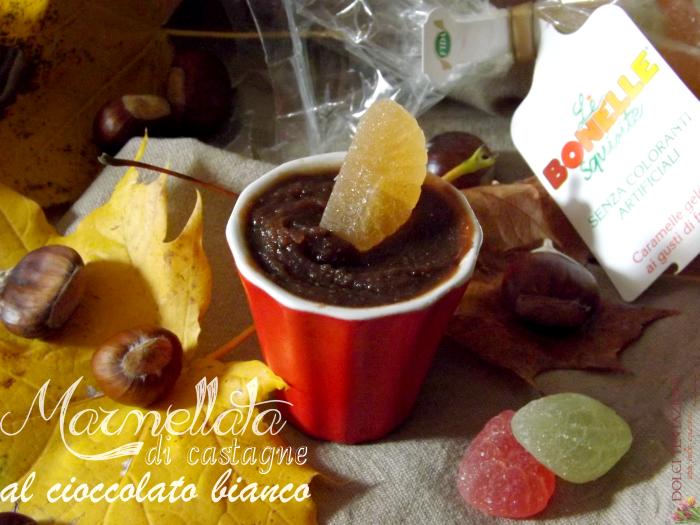 marmellata di castagne al cioccolato bianco.articolo