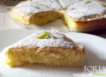 Torta spicchi al limone