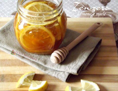 Zenzero,limone e miele