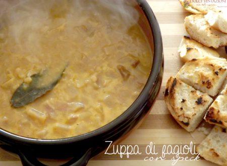 Zuppa di fagioli con speck