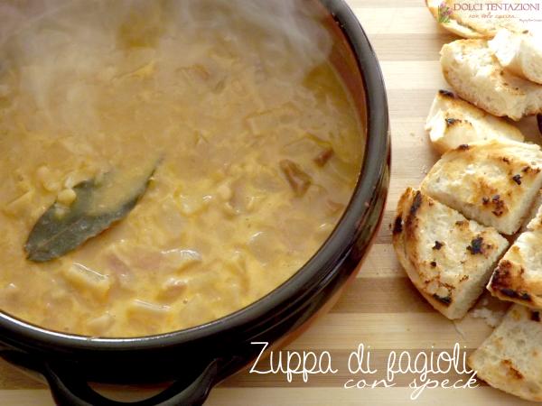 zuppa di fagioli con speck.blog