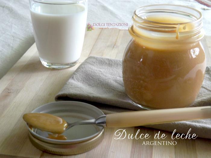 Dulce de leche argentino.articolo