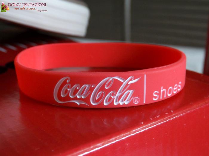 coca cola shoes.braccialetto