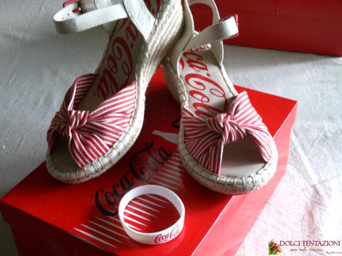 coca cola shoes.donna