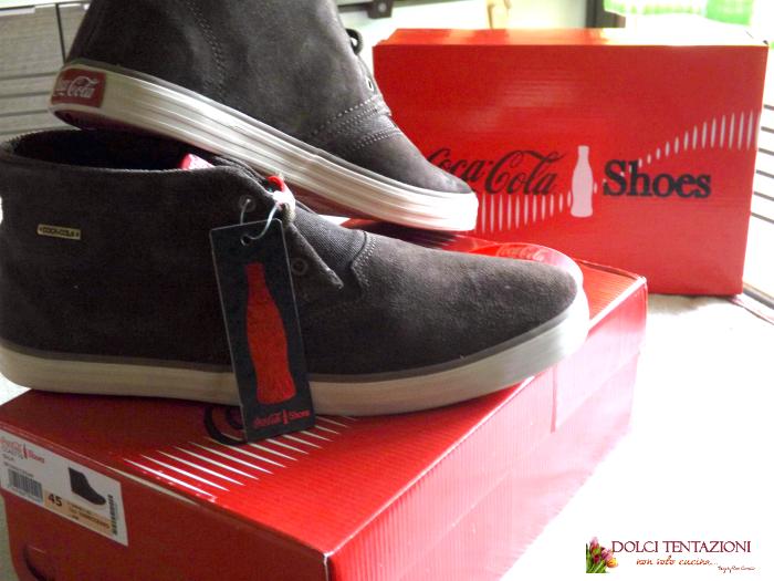 coca cola shoes.uomo